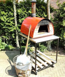 Hout Gestookte Pizzaoven