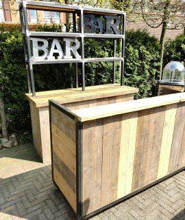 Achterwand Industriële Bar